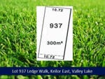 Lot 937 Ledge Walk, Keilor East, Vic 3033