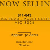 811-843 GREIGS ROAD, Mount Cottrell, Vic 3024