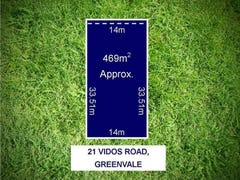 Lot 752, 21 Vidos Road, Greenvale, Vic 3059