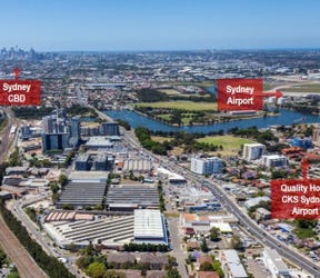 Quality Hotel CKS Sydney Airport, 33-35 Levey Street, Wolli Creek, NSW 2205