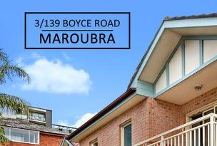 3/139 Boyce Road, Maroubra, NSW 2035