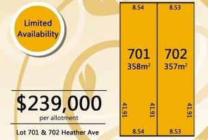 Lot 701 and 702 Heather Avenue, Windsor Gardens, SA 5087