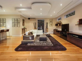 Cream living room idea from a real Australian home - Living Area photo 525561