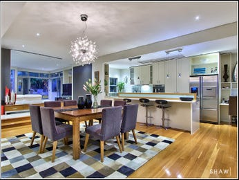Purple dining room idea from a real Australian home - Dining Room photo 526493