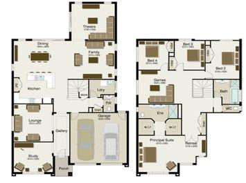 The Regent 370 - floorplan