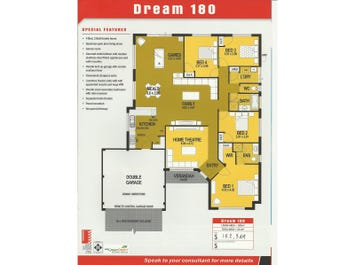 Dream 180 - floorplan