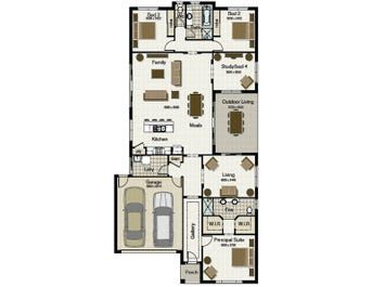Seabreeze 255 - floorplan