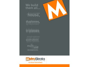 MetroStrata Developments Outback Series from $130,000