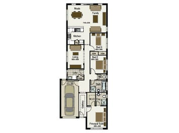 Villa 155 - floorplan