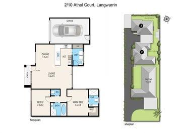 Units 2 & 3/10 Athol Court, Langwarrin, Vic 3910