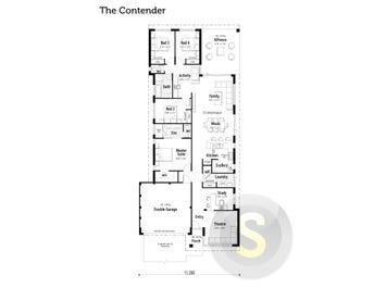 The Contender - floorplan