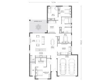 Denham 27 - floorplan