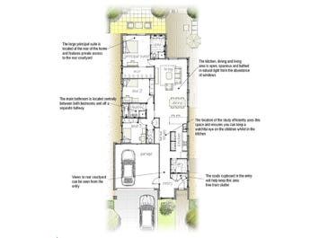Mahina 190 - floorplan