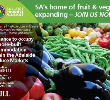 Adelaide Produce Markets, Burma Road, Pooraka, SA 5095