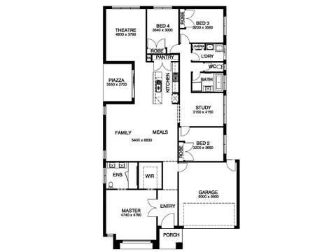 Ramson 28 - floorplan