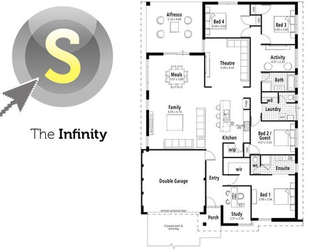 The Infinity - floorplan