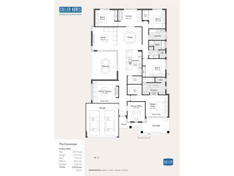 The Contempo - floorplan