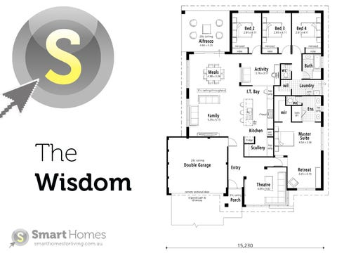 The Wisdom - floorplan