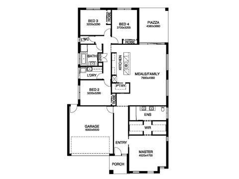 Orlando 25W - floorplan