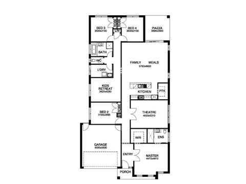 Delray 28 - floorplan