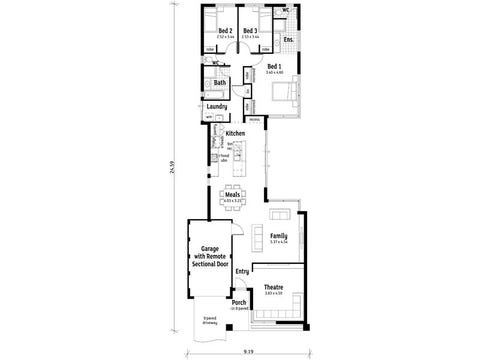 The Cube - floorplan