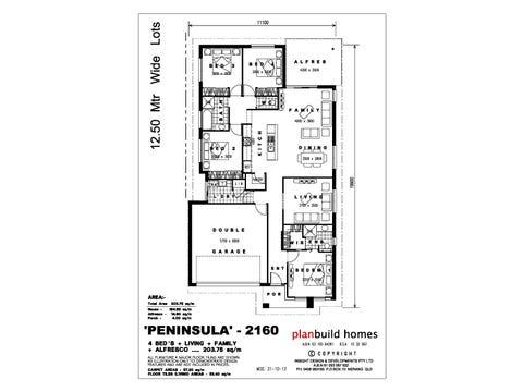 Peninsula 2160 - floorplan