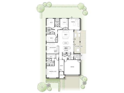 Olearia 1532 N01 - floorplan