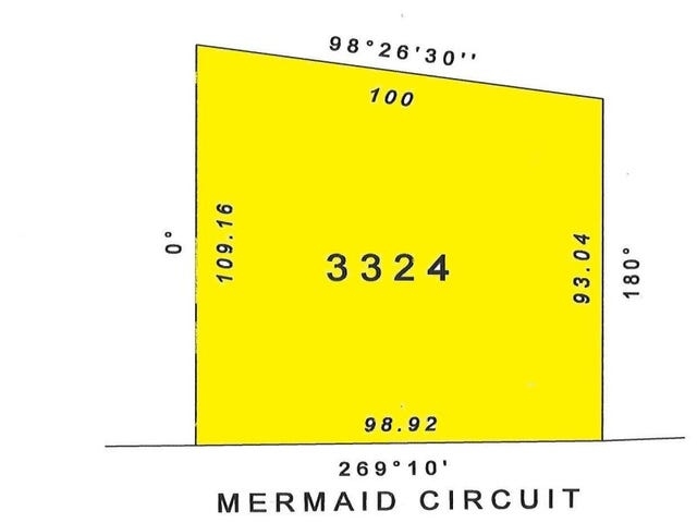 Section 3324 Mermaid Circuit, Dundee Beach, NT 0840