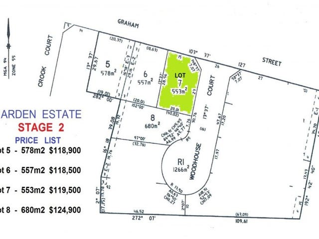 Lot 7, Cnr Graham & Woodhouse Street, Ballan, Vic 3342