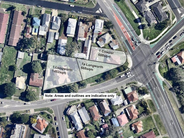 1 and 1a Longworth Ave, and 1 Cowper Street, Wallsend, NSW 2287