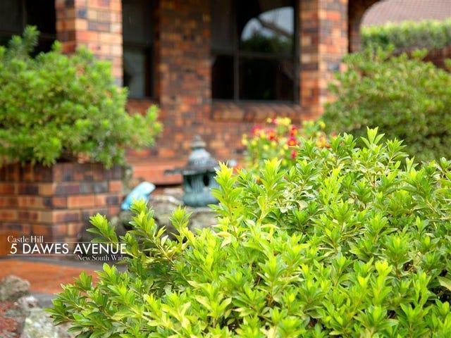 5 Dawes Avenue, Castle Hill, NSW 2154