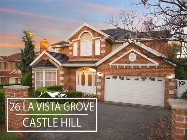 26 La Vista Grove, Castle Hill, NSW 2154