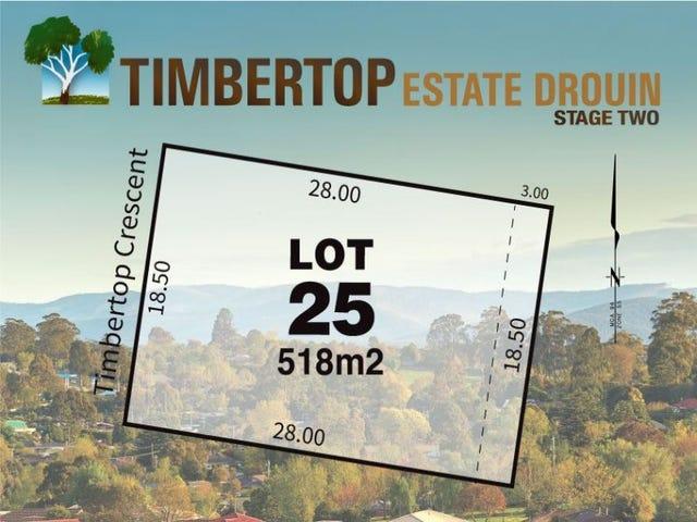 Lot 25 Timbertop Crescent, Drouin, Vic 3818
