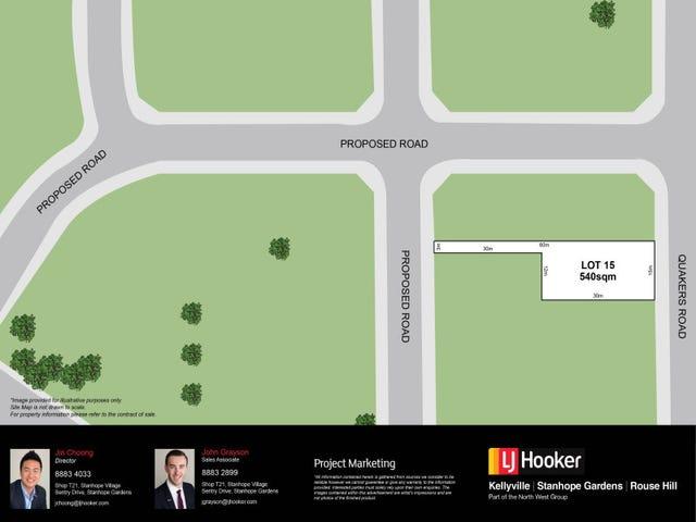 Lot 15, 336 Quakers Road, Quakers Hill, NSW 2763