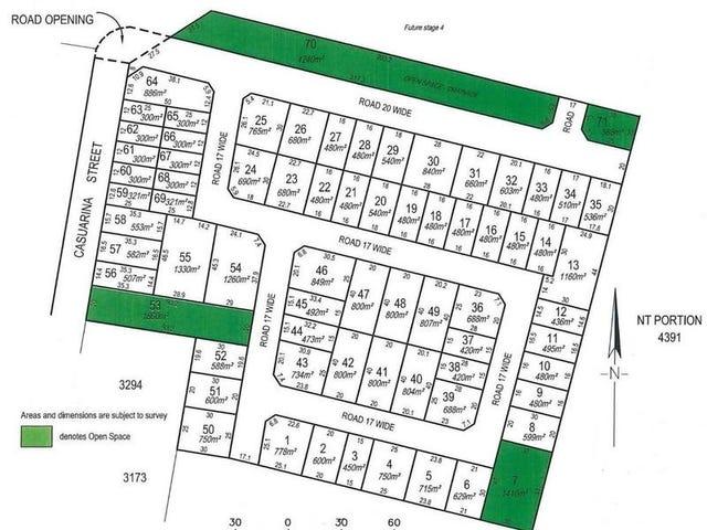 Lot 3376 (Block 63) Casuarina Park, Katherine, NT 0850