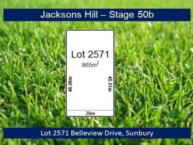 Lot 2571 Belleview Drive, Sunbury, Vic 3429