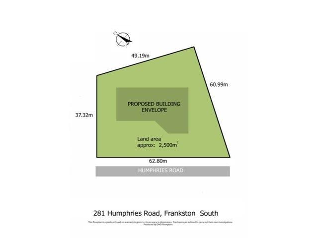 281 Humphries Road, Frankston South, Vic 3199