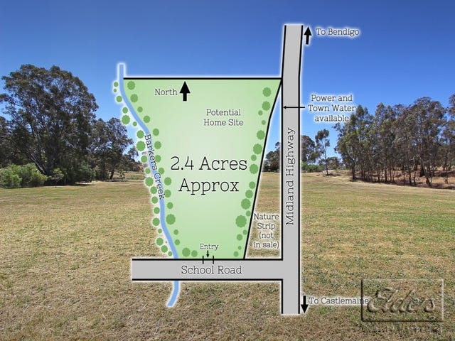Corner School Road & Midland Highway, Barkers Creek, Vic 3451