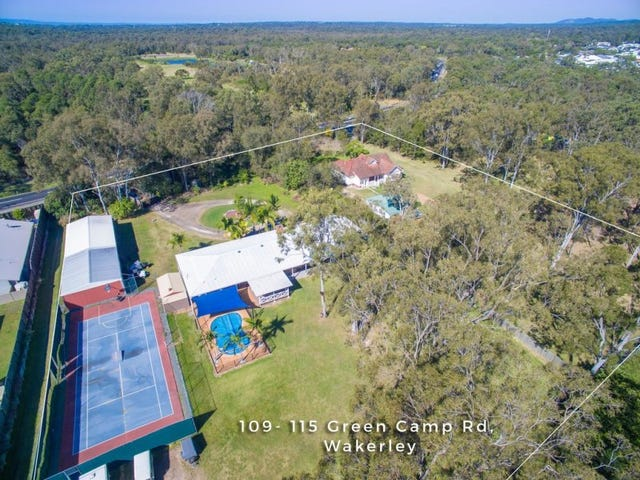 115 & 109 Green Camp Road, Wakerley, Qld 4154