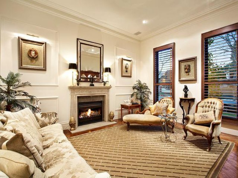 Cream living room idea from a real australian home for Cream living room designs