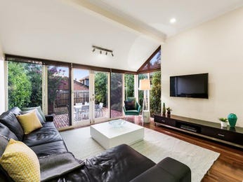 Black living room idea from a real Australian home - Living Area photo 14805245