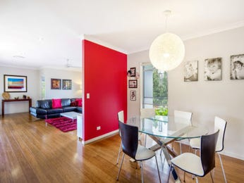 Red dining room idea from a real Australian home - Dining Room photo 7559377