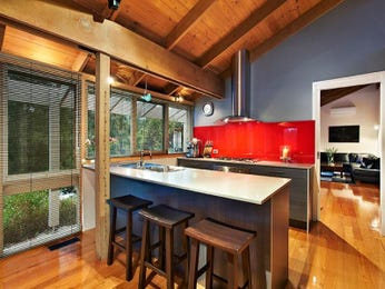 Floorboards in a kitchen design from an Australian home - Kitchen Photo 697831