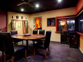 Black dining room idea from a real Australian home - Dining Room photo 122299