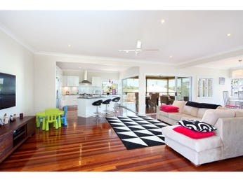 Black living room idea from a real Australian home - Living Area photo 14991021