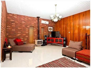 Brown living room idea from a real Australian home - Living Area photo 1342603