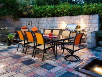 Outdoor living design with bbq area from a real Australian home - Outdoor Living photo 942736