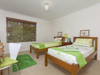 Green bedroom design idea from a real Australian home - Bedroom photo 125856