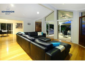 Open plan living room using yellow colours with floorboards & floor-to-ceiling windows - Living Area photo 8393069