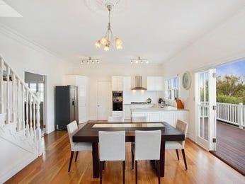 Modern dining room idea with hardwood & bar/wine bar - Dining Room Photo 126701